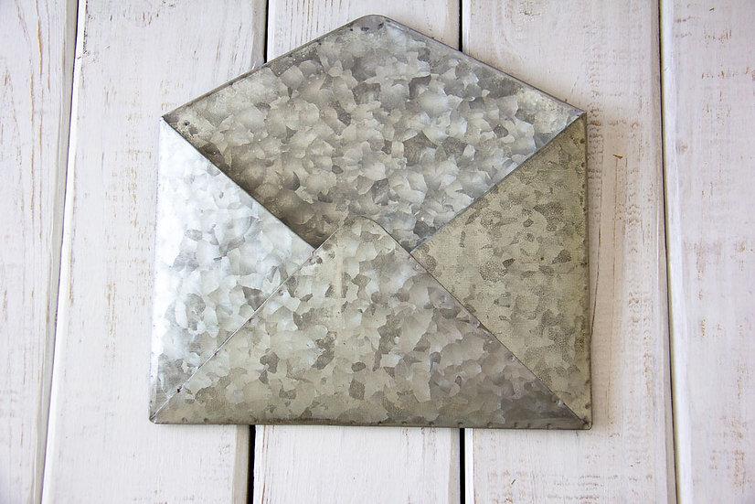 Galvanized Envelope Mail Bin