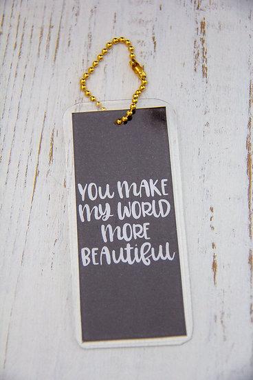 World More Beautiful - Premium Gift Tag