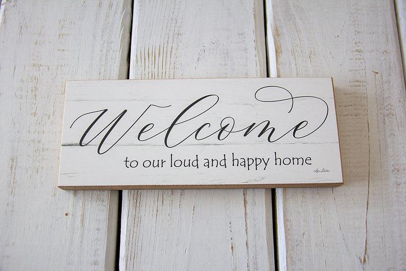 Welcome - Shelf Sitter