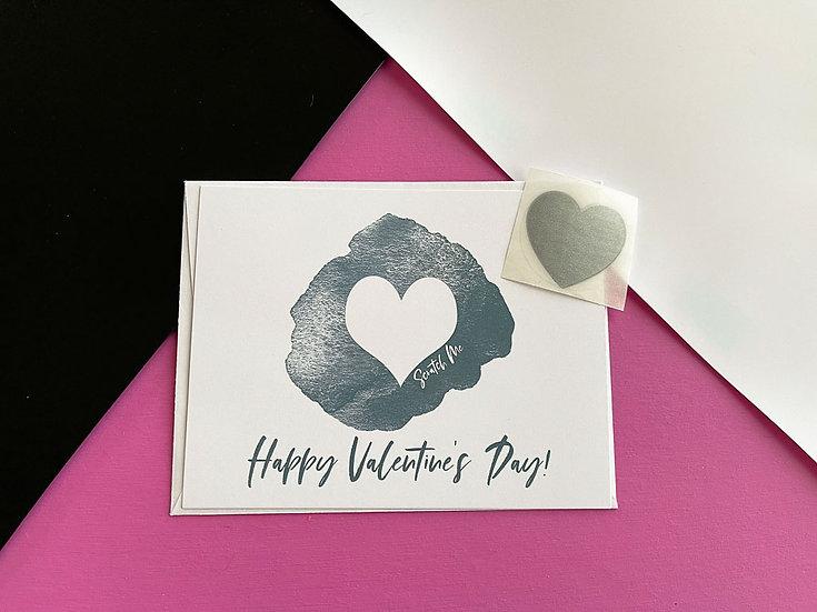 Scratch Off Happy Valentine's Day - Postcard