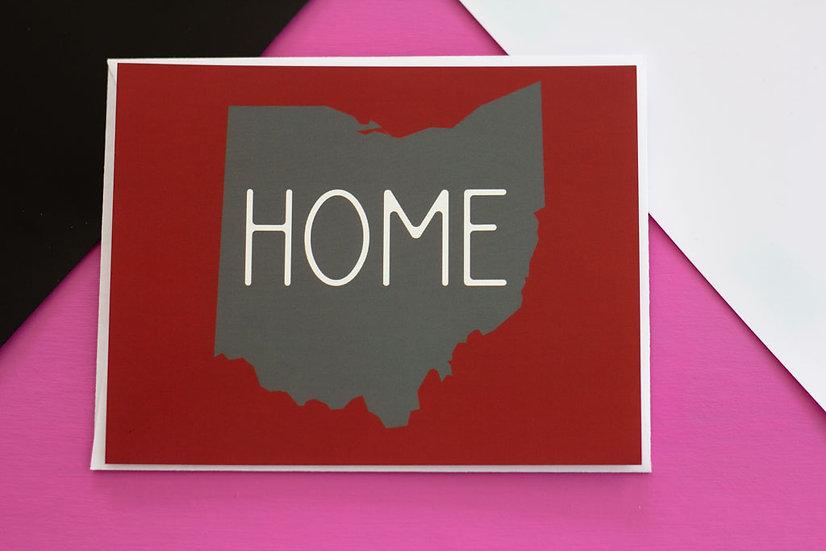 Ohio Home - Post Card