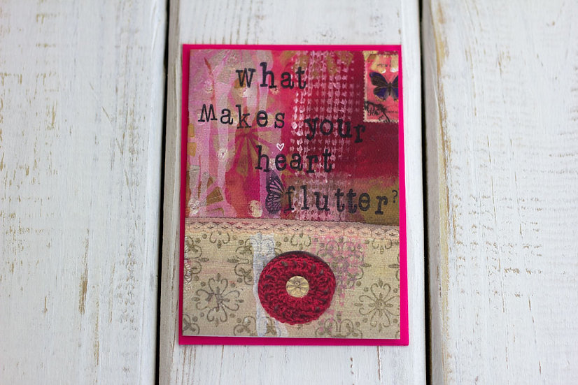 Heart Flutter - Greeting Card