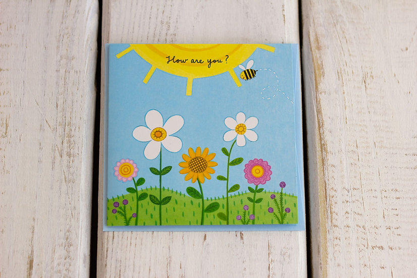 How Are You (Get Well) - Pop Up - Greeting Card
