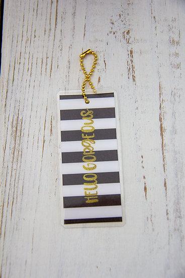 Hello Gorgeous - Premium Gift Tag