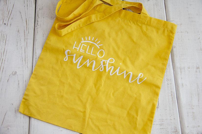 Hello Sunshine - 6 oz Reusable Tote
