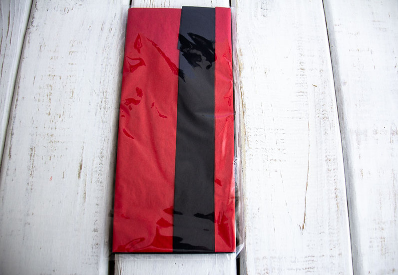 Tissue Paper Mix Pack - Black and Red