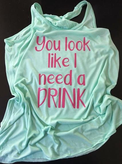 I need a drink tank