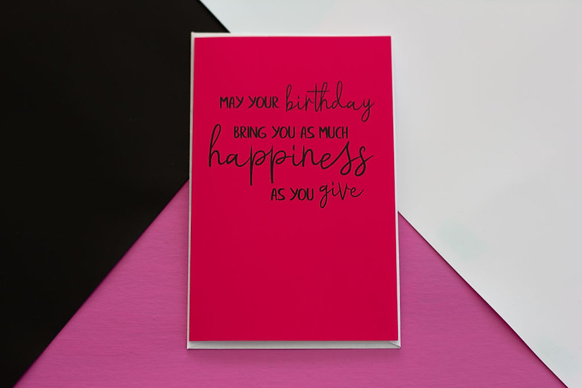 Bring You Happiness - Greeting Card