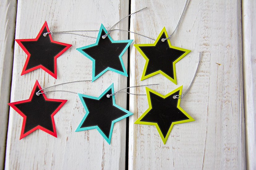 Assorted Star Gift Tags