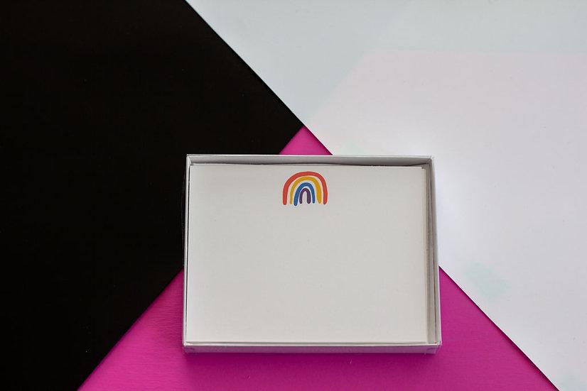 Rainbow Postcard Set - Qty 8