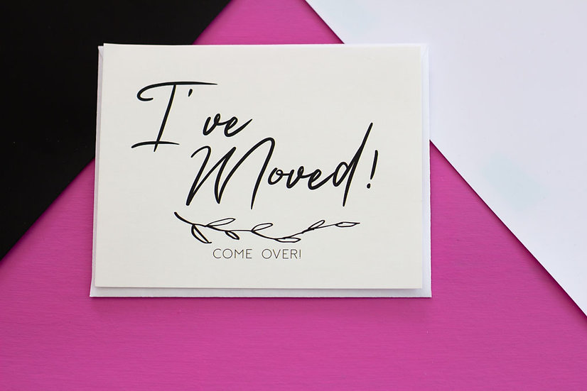 I've Moved - Postcard