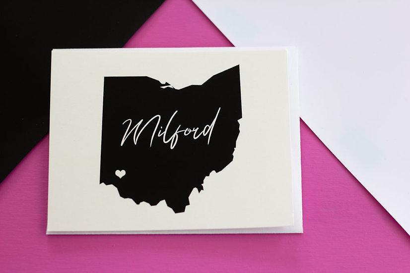 Milford, Ohio - Post Card