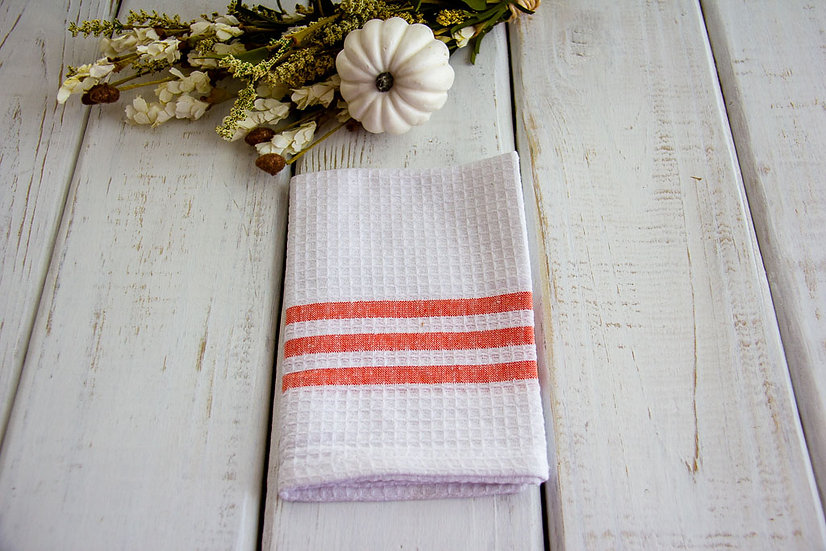 Waffle Weave Napkin - Fall Gift Wrap