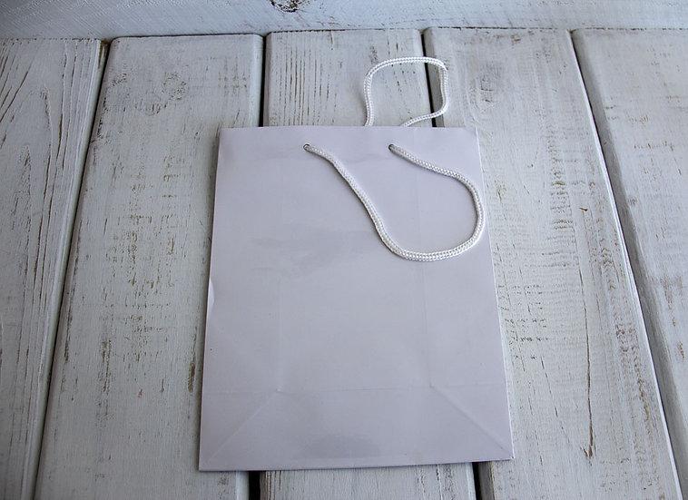 Medium Gift Bag - White