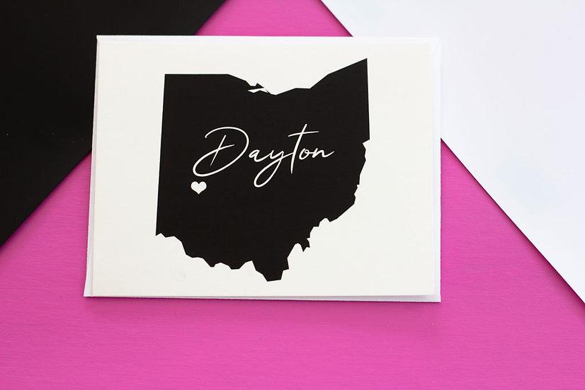 Dayton, Ohio - Postcard