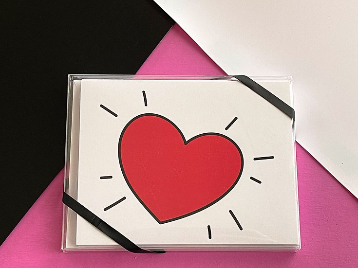 Spread Love Wherever You Go - Note Card Pack (6)