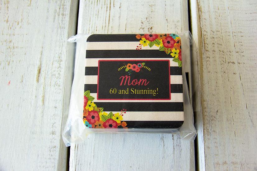 Mom 60 and Stunning - Coasters