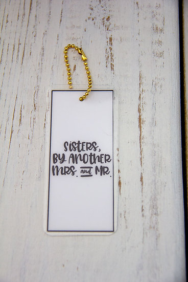 Sisters By Another - Premium Gift Tag