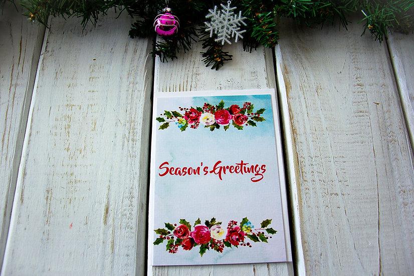 Season-ful Greeting Card