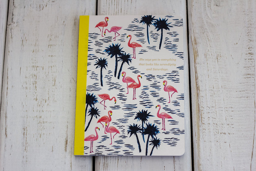 She Says Yes - Flamingo's - Notebook
