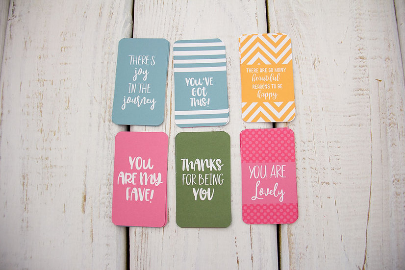 Hello Spring - Mini Cards