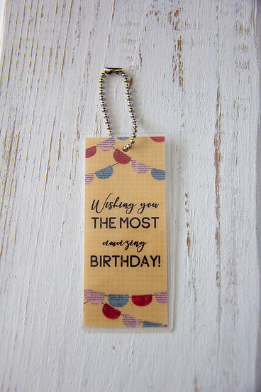 Amazing Birthday - Premium Gift Tag