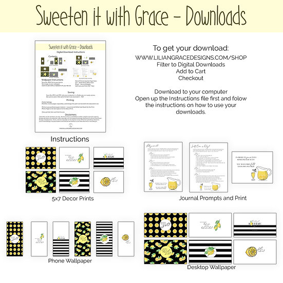 Sweeten it with Grace Download
