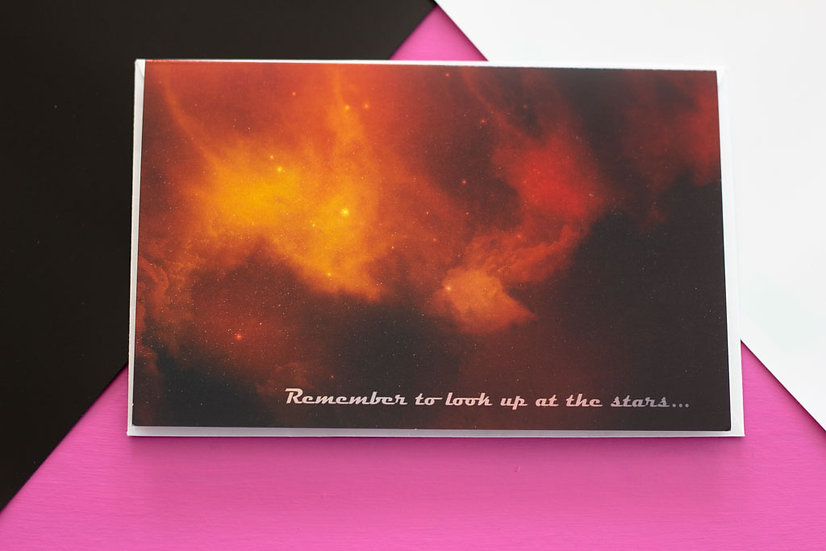 Look Up - Greeting Card