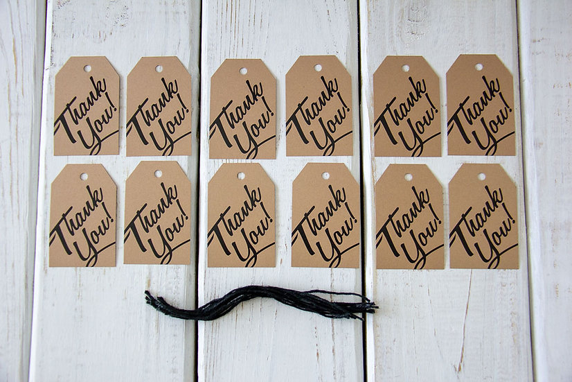 Thank You - Gift Tags