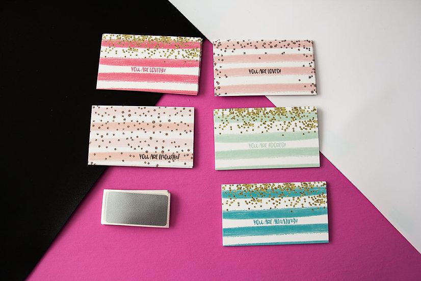 Scratch Off Mini Cards - Watercolor
