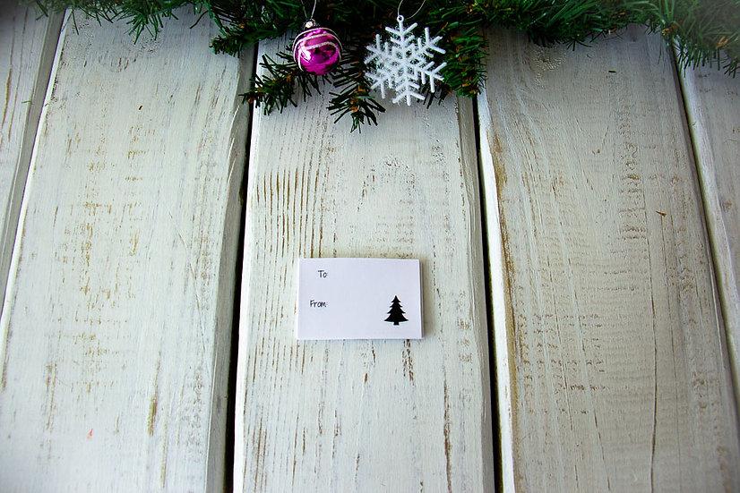 Tree - Adhesive Gift Tags