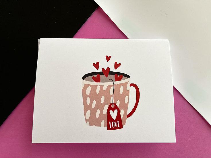 Tea Love Note Card