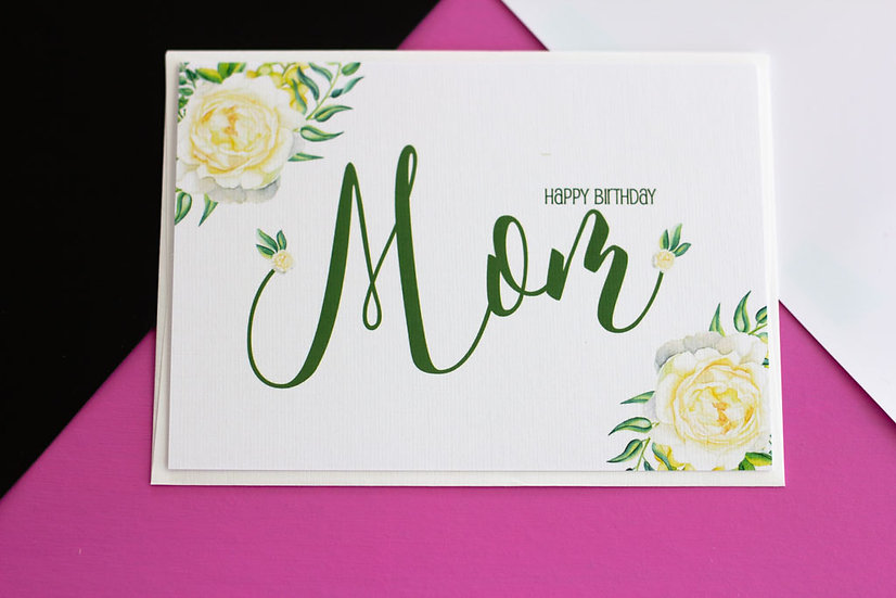 Mom (Birthday) - Greeting Card