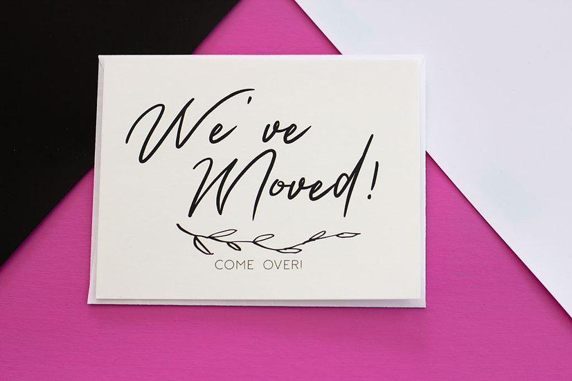We've Moved - Postcard