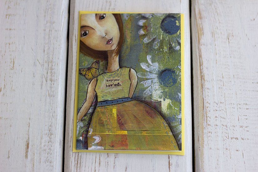 Happily Loved - Greeting Card
