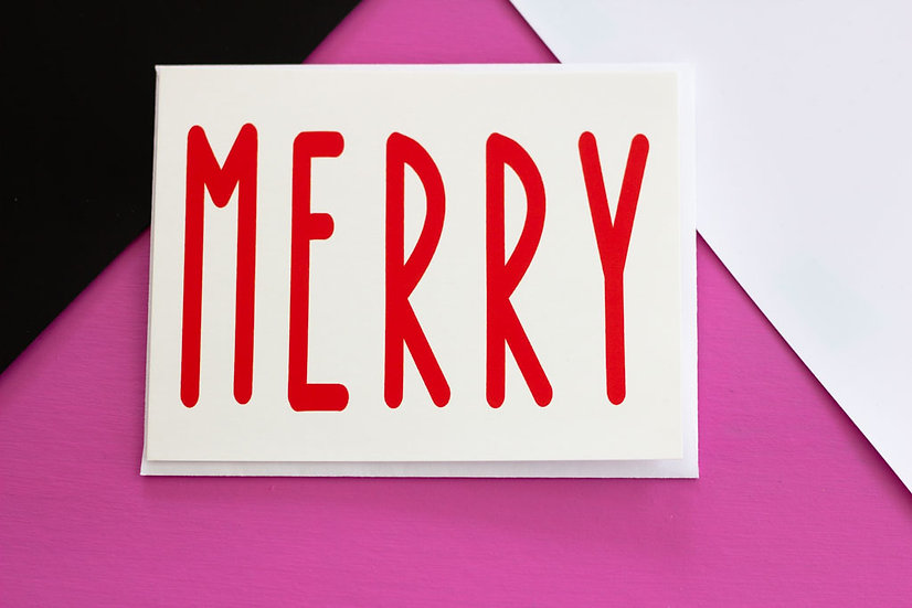 Merry - Post Card