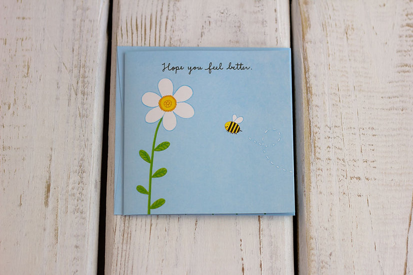 Feel Better - Pop Up - Greeting Card