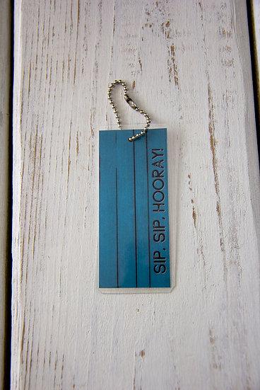 Sip, Sip, Hooray - Premium Gift Tag