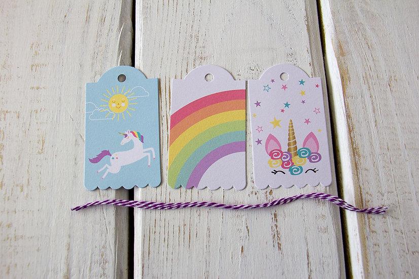 Unicorn Set - Gift Tags