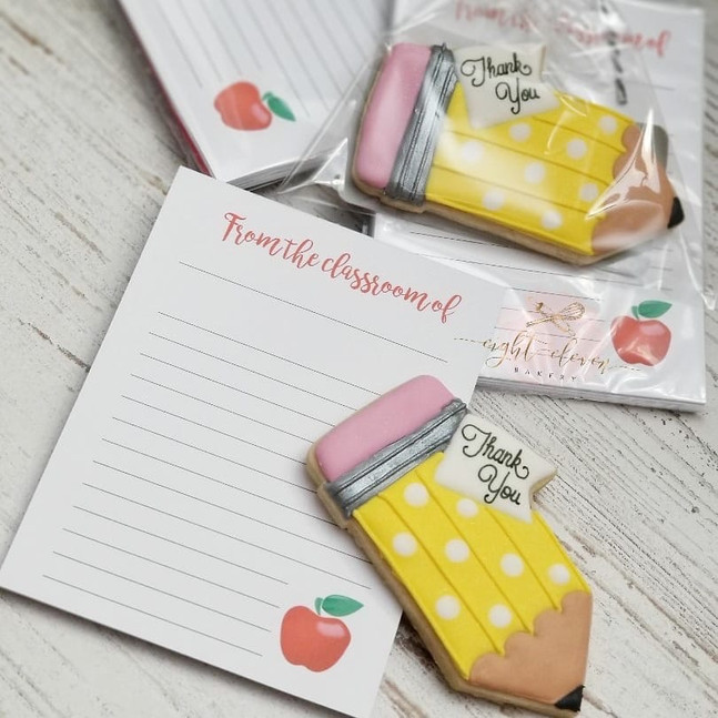 Teacher Notepads - Eight-Eleven Bakery