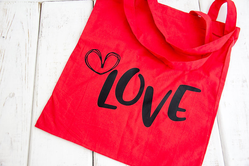 Love - 6 oz Reusable Tote