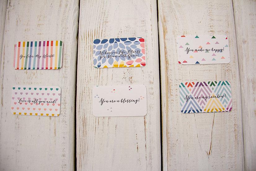 Color Me Happy - Mini Cards