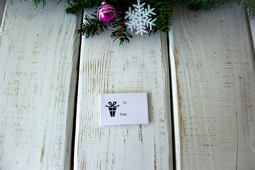 Present - Adhesive Gift Tags