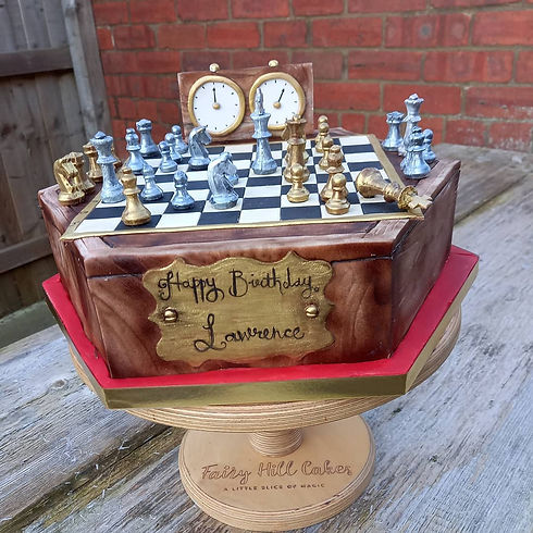 queens gambit inspired birthday cake.jpg