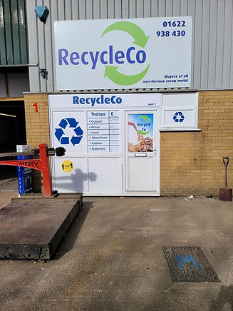 RecycleCo front entrance