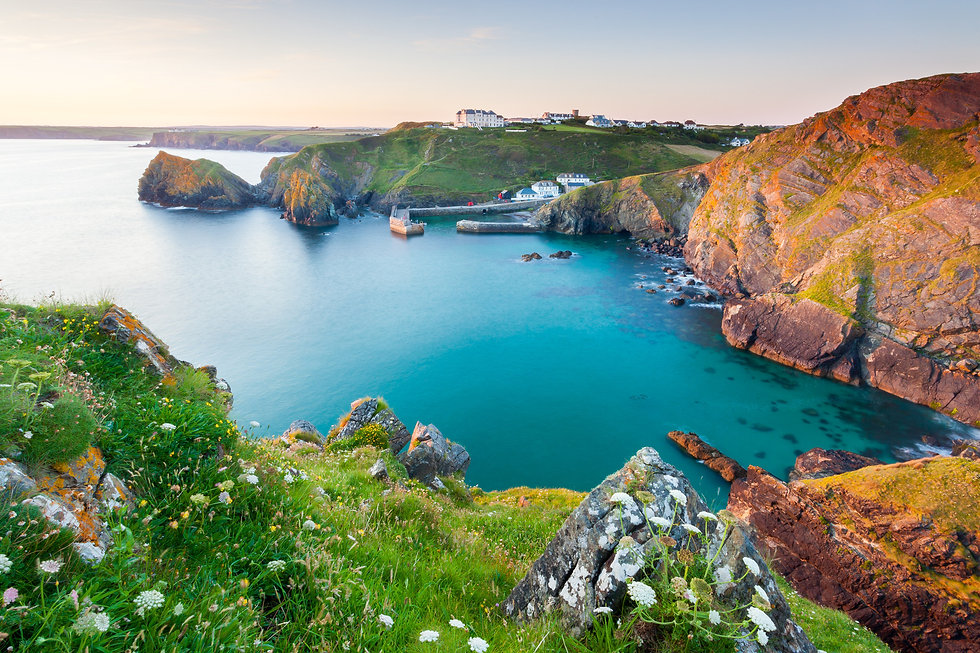 Cliff-tops-in-Cornwall