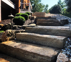 Snapped Stone Steps