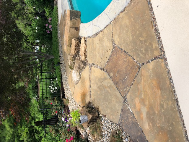 Pavestone Pool Deck