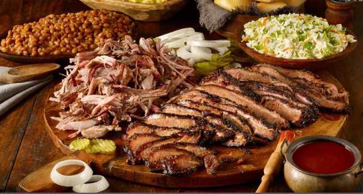 BBQ platter