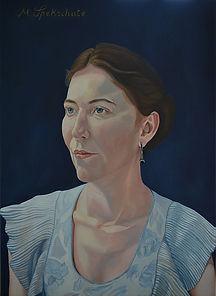 portrait oil painting Florence